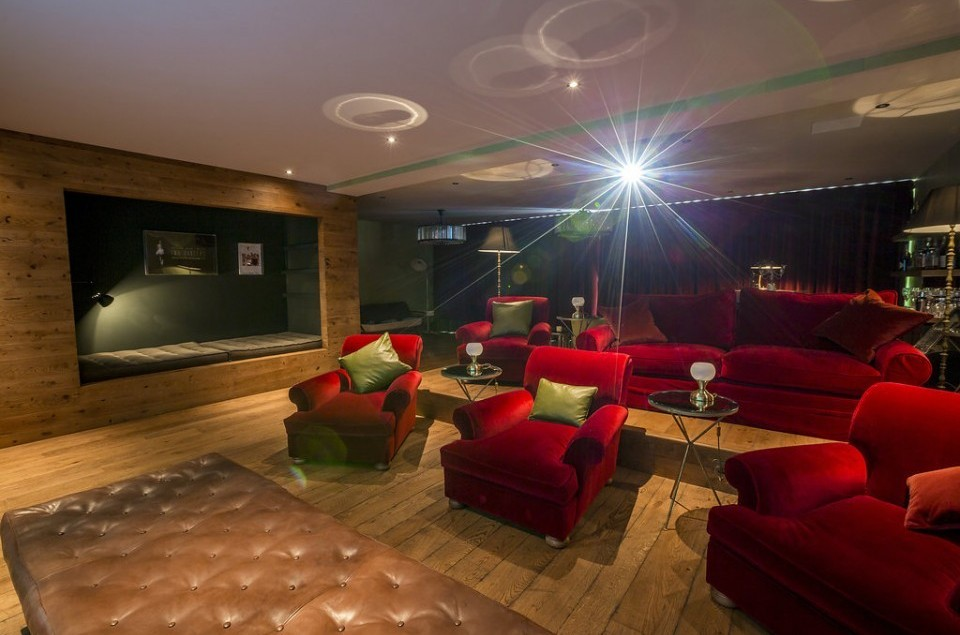 Cosy family Home Cinema, inspired by the Electric Cinema in Notting Hill