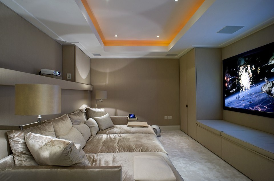 Home Cinema Design & Installation London | Inspired Dwellings ... on home theater bedroom design, home theater library design, living room small space design, home theater wall design, home theater room design, home theater interior design, home theater lighting design,