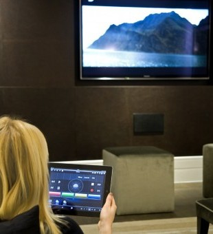 One of the easiest ways to control your media - add your iPad or tablet to your cinema system.
