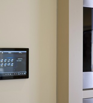 Along with on-wall keypads, lighting can also be controlled through your phone, tablet or touch panels.